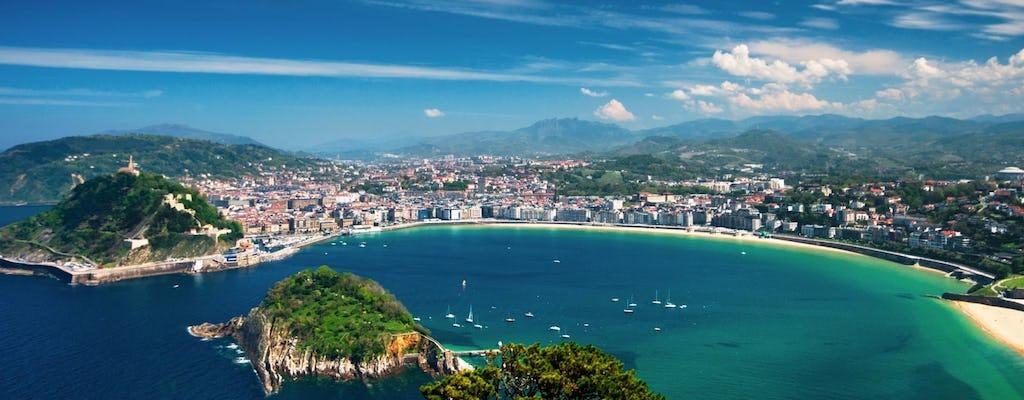 Excursión de un día por San Sebastián y Biarritz