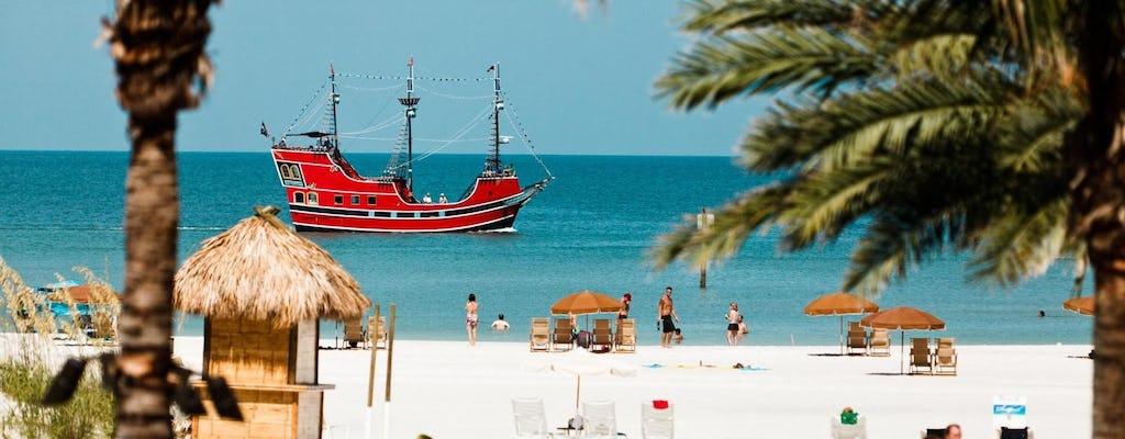 Cruzeiro pirata do capitão Memo com dia em Clearwater Beach