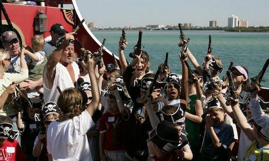 Croisière pirate du capitaine Memo avec une journée à Clearwater Beach et déjeuner