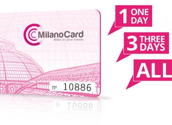 Milano Card for 24, 48 or 72 hours