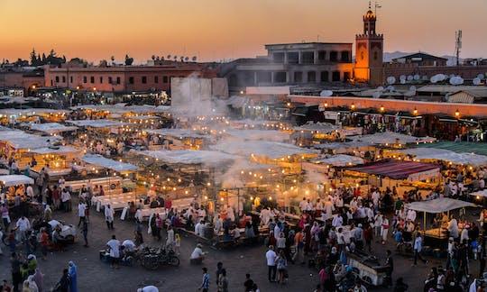 Tour di un'intera giornata a Marrakech da Casablanca