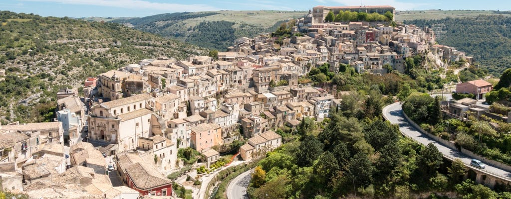 Full-day tour to Ragusa and Modica with lunch included from Siracusa