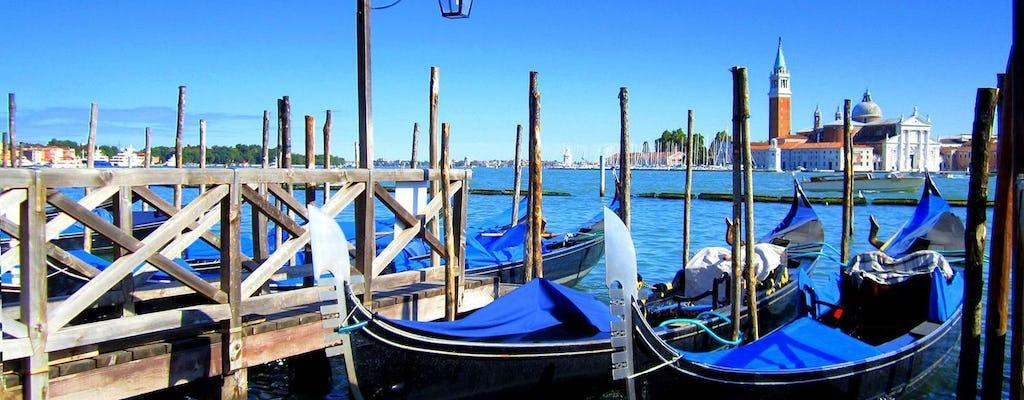 Passeio a pé pela manhã de Veneza com Basilica de São Marcos e passeio de gôndola