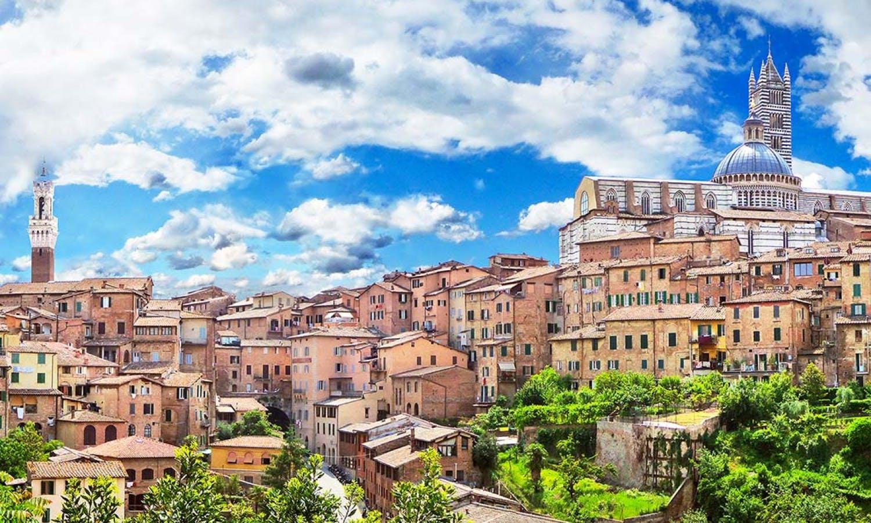 Ver la ciudad,Ver la ciudad,Tours andando,Tour por Siena