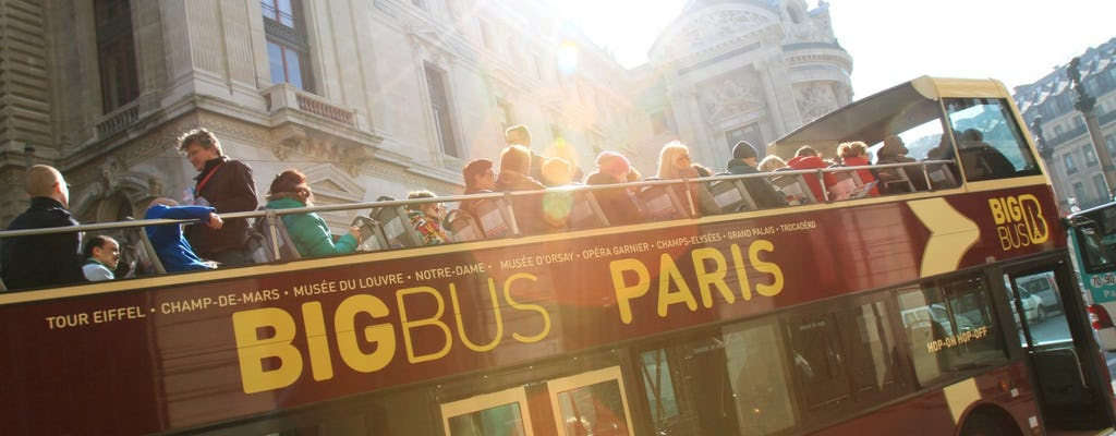 Big Bus Paris city tour