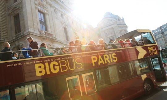 Big Bus tour of Paris