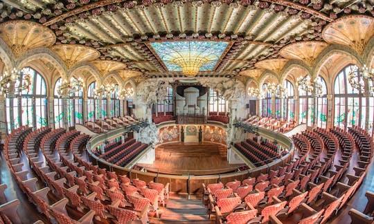 Guided Tour of Palau de la Música Catalana in Barcelona
