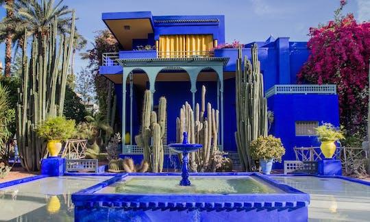 Tour por los jardines botánicos de Marrakech