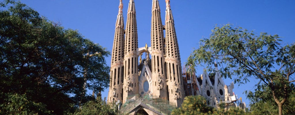 Visita guidata della Sagrada Familia e di Parco Güell con tour di Paseo de Gracia