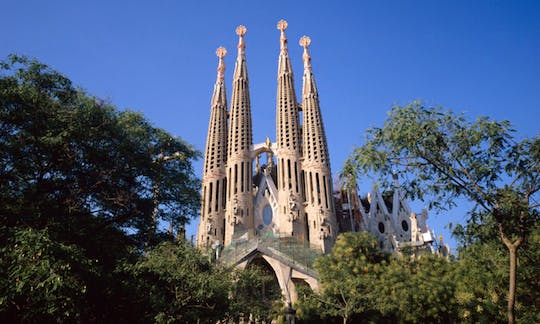 Barcelona Artistic Tour with entrance to Sagrada Familia and Park Güell