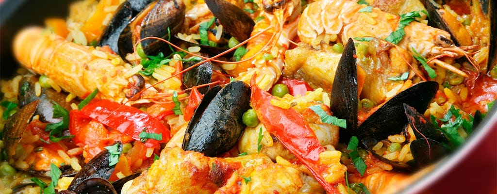 Paella, Tortilla and Sangria: Cooking Experience in Madrid