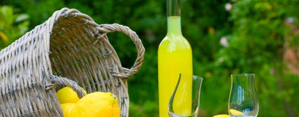 Limoncello e delizie al limone tra Amalfi e Valle dei Mulini