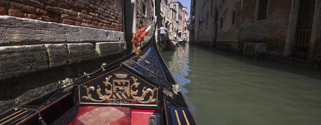 Gondelvaart en rondleiding door de Basiliek van San Marco