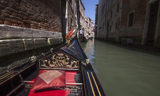 Gondola ride and Saint Mark's Basilica tour