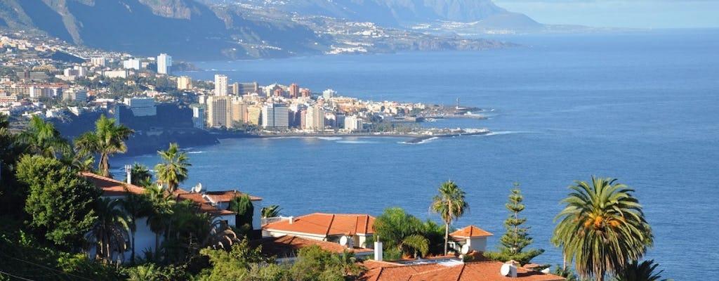 Guided Tour of Teide and Puerto de la Cruz in Tenerife