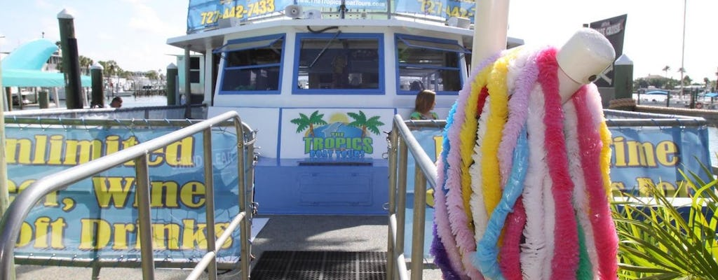 Clearwater Beach: dolphin encounter boat cruise