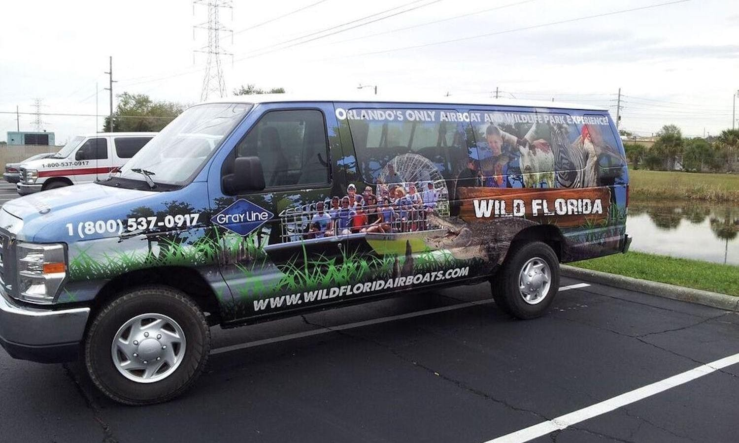 Wild Florida roundtrip transportation only