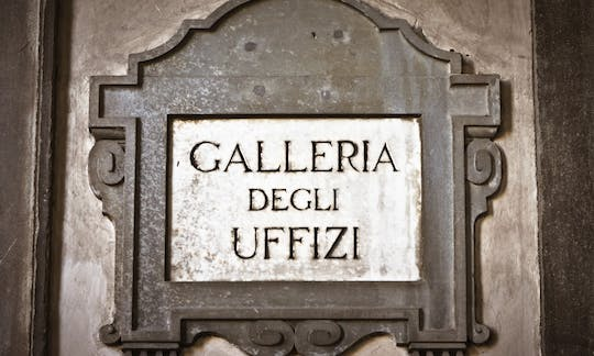 Florence walking tour with Uffizi Gallery tickets and guided visit