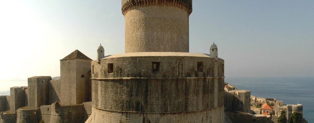Tour a piedi delle mura cittadine di Dubrovnik