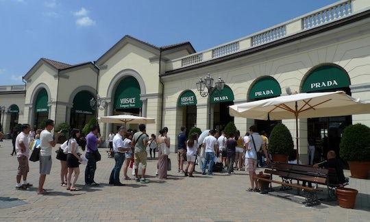 Serravalle Designer Outlet: shopping tour from Milan