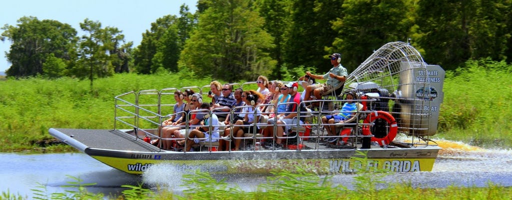 Wild Florida ultimate airboat ride with transportation from Orlando