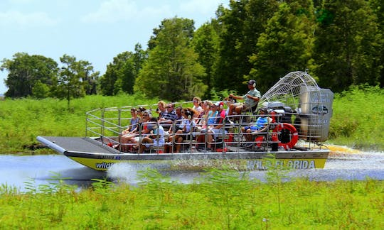 Excursion en hydroglisseur ultime en Floride sauvage avec le transport d'Orlando