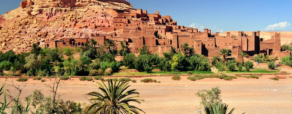 Tour of Ouarzazate and Erfoud desert from Marrakech - 4 days