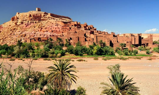 Tour de 4 días a Uarzazat y el desierto de Erfoud desde Marrakech