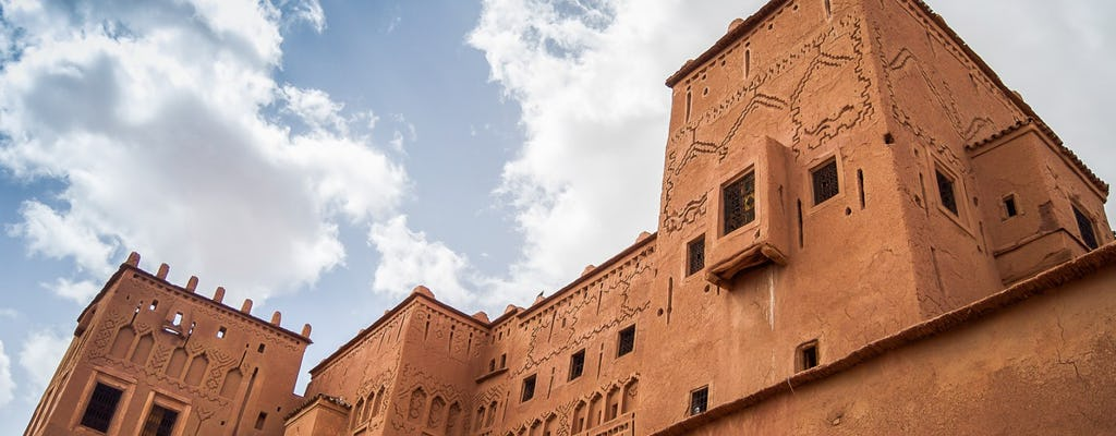Tour of Ouarzazate and Mhamid desert from Marrakech - 4 days