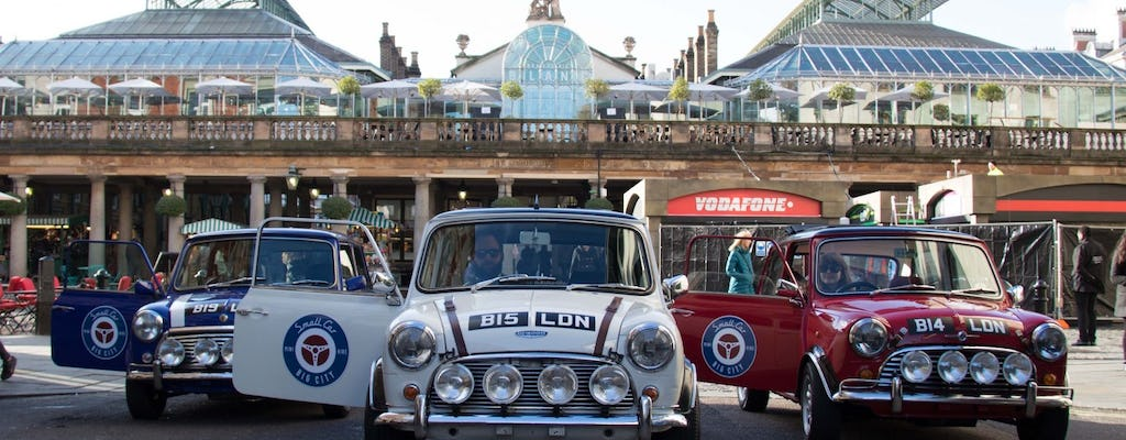 The Italian Job Experience in a classic Mini Cooper