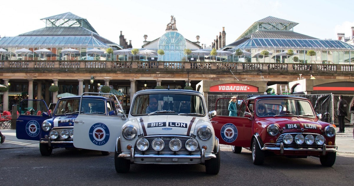 The Italian Job Experience In A Classic Mini Cooper Musement