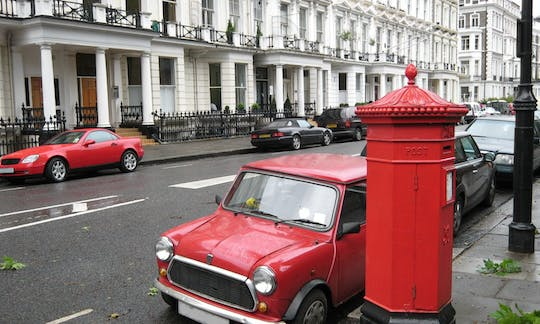 Mini Love - Tour privato di Londra in un'auto classica britannica