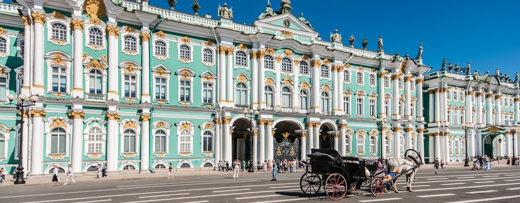 Hermitage museum guided tour