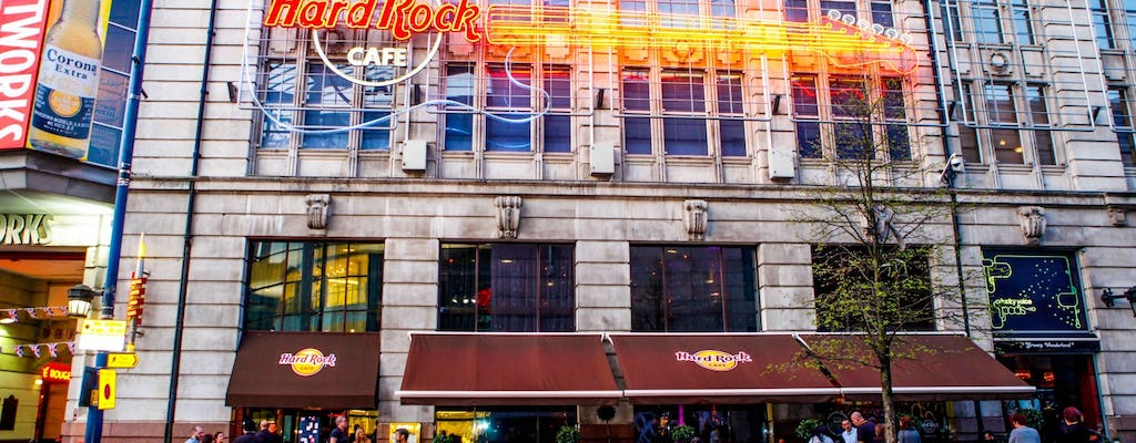 Hard Rock Cafe Manchester: Priority Seating with Menu