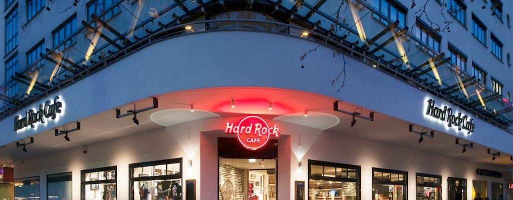 Hard Rock Cafe Berlin: priority seating with menu