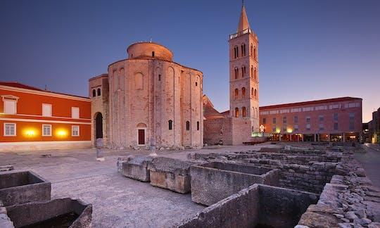Zadar walking tour: Sea Organ and Roman Forum