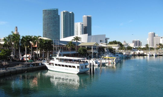 Biscayne Bay boat tour with roundtrip transportation