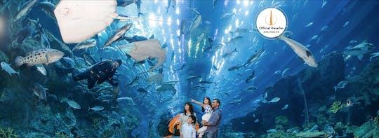 Biglietti per il Burj Khalifa con acquario di Dubai