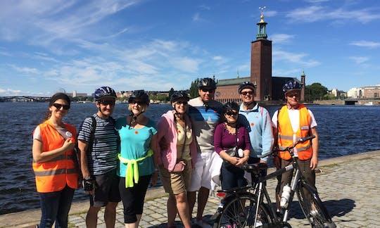 Велотур по Стокгольму