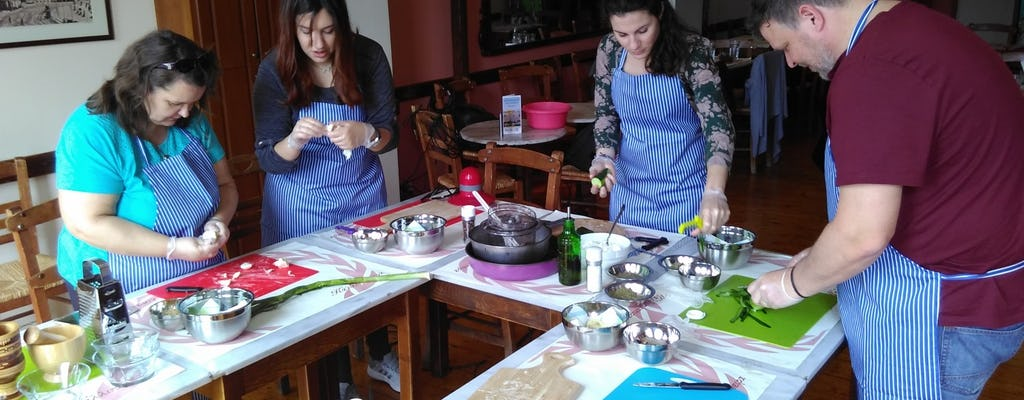 Private Athens market tour and Greek cooking lesson