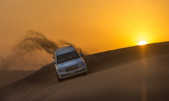 Premium desert safari with dinner and entertainment