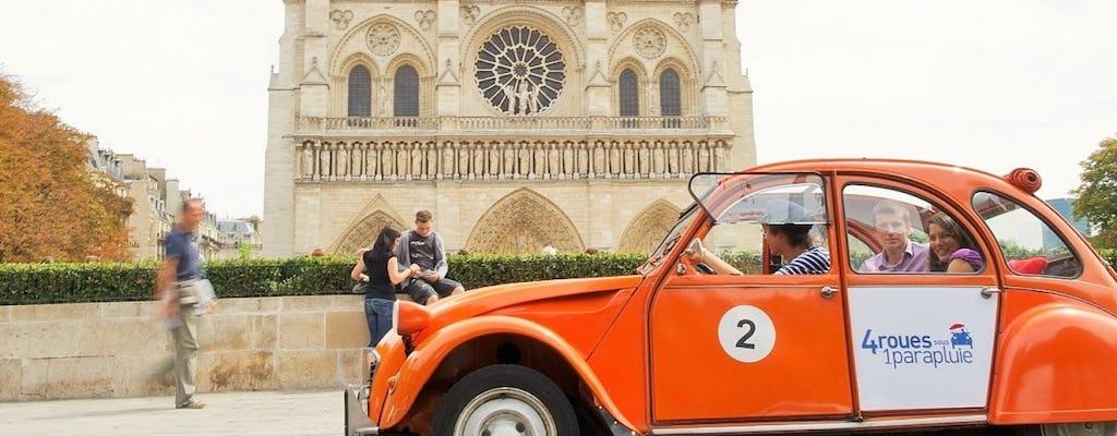 Paris private tour in vintage Citroën 2CV