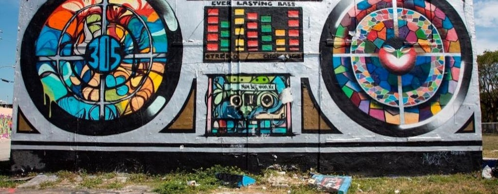 Tour guidato a piedi dell'arte urbana a Miami