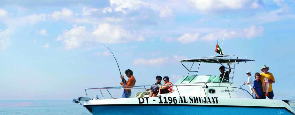 Deep sea fishing experience from Dubai