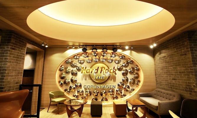 Hard Rock Cafe Copenhagen Menu