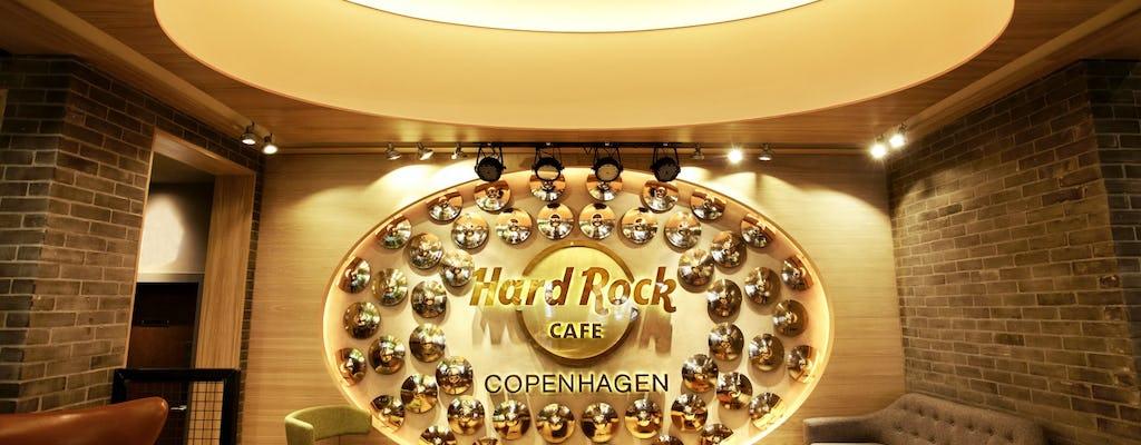 Hard Rock Cafe Copenhagen: priority seating with menu