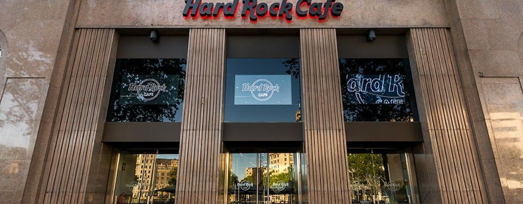 Hard Rock Cafe Barcelona: pierwszeństwo siedzenia z menu