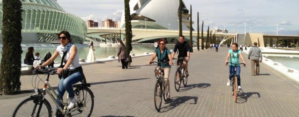 Excursión en bicicleta por la ciudad de Valencia