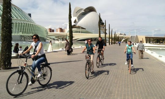Valencia city bike tour