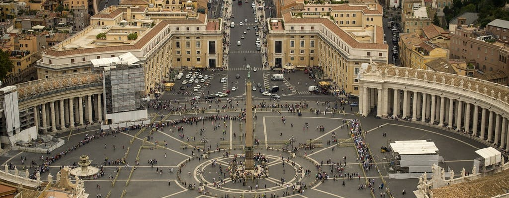 Tour di un giorno di Roma dal porto di Civitavecchia: escursione per crociere
